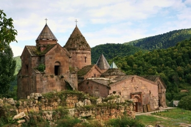 Silk road of Armenia